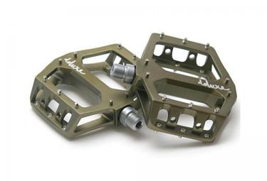 DELUXE Pédales F-LITE Aluminium Vert