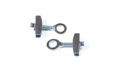 GNK horizontal chain tensioners 10 mm Silver