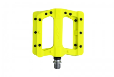 Ht components pedales nylon pa01 jaune fluo