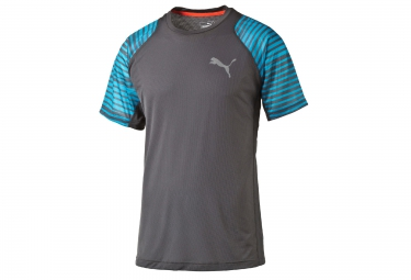 PUMA T-Shirt VENT GRAPHIC Homme Gris Bleu