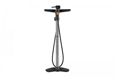 SKS Floor Pump with Manometer AIR-WORX Grey Orange