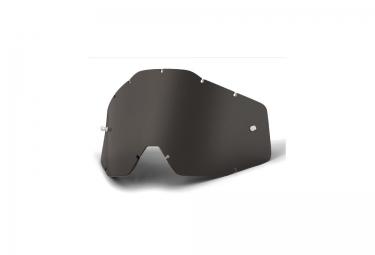 100% Dark Smoke Lense anti fog RACECRAFT, ACCURI and STRATA