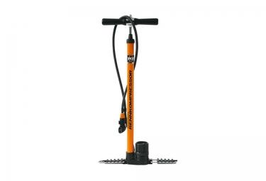 SKS Floor Pump with EVA Valve RENNKOMPRESSOR Orange