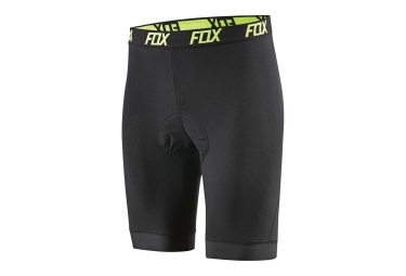 fox sous short evolution comp liner short noir xl