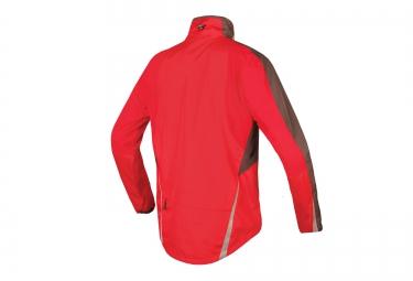 endura veste impermeable flyte rouge l