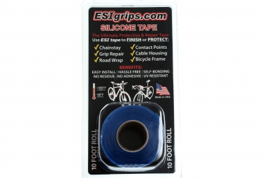 ESI Roll Protection SILICONE TAPE Blue 3m