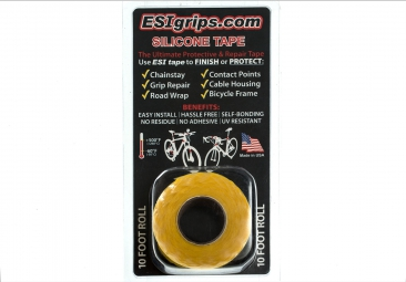 ESI Roll Protection SILICONE TAPE Yellow 3m