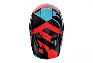Casco Integral Fox RAMPAGE PRO CARBON Bleu / Rouge