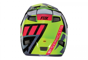 Casco Integral Fox RAMPAGE PRO CARBON Gris / Jaune