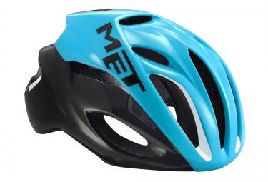 met casque rivale bleu noir m 54 58 cm
