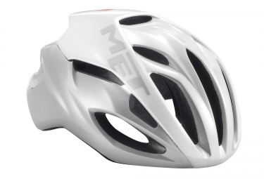 Met casque rivale blanc argent l 59 62 cm