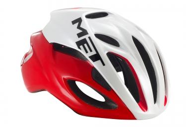 Met casque rivale rouge blanc l 59 62 cm