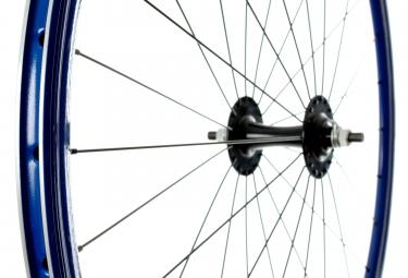 Paire de Roues GIPIEMME PISTA FIXIE 700c Bleu