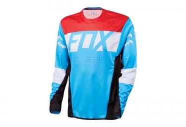 FOX Maillot Manches Longues FLEXAIR Bleu Rouge