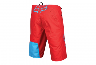 fox short flexair rouge bleu 38