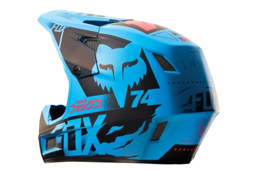 casque fox rampage comp union bleu xl 61 62 cm