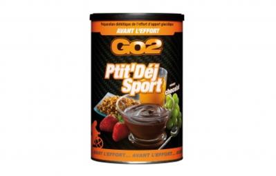 GO2 Boisson Energétique PTIT´DEJ SPORT Chocolat Pot de 600g