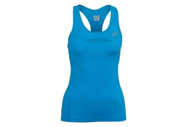 ZOOT Women's Performance Tri Racerback Blue