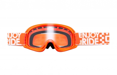 oneal 2016 masque rl orange fluo ecran transparent enfant