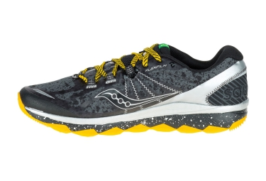 Chaussures de Trail Saucony NOMAD TR Noir / Jaune