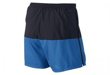 nike short distance 12 5cm noir bleu homme xl