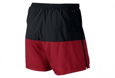 NIKE Short DISTANCE 12.5cm Noir Rouge Homme