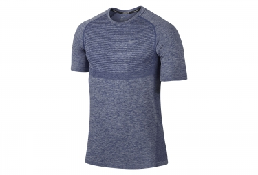 nike maillot dri fit knit bleu homme xl