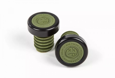 BSD Bar Ends M Caps Green
