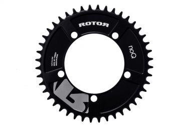 rotor plateau cyclo cross noq cx1 aero bcd110 5 branches noir 44