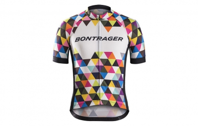 bontrager maillot manches courtes specter geo scope xs