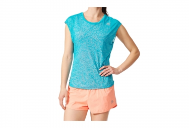 adidas RUN LAYER Tank Top Blue Orange Women