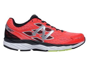 Chaussures de Running New Balance M 880 V5 Noir / Rouge