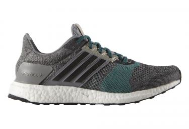 Ejecución De Ultra Impulso St Gris Color De Los Zapatos De Los Hombres De Adidas (af6517) hb4bk