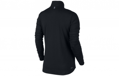 NIKE Sweat-Shirt ELEMENT HALF-ZIP Noir Femme