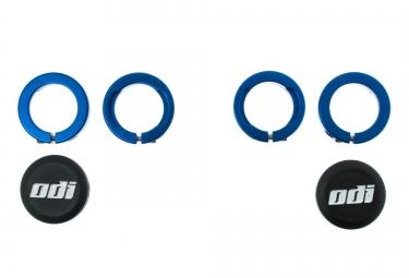 ODI Bagues LOCK-ON aluminium Bleu