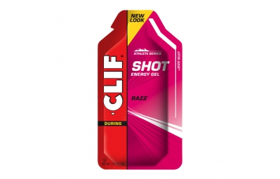 clif bar gel energetique clif shot gout framboise