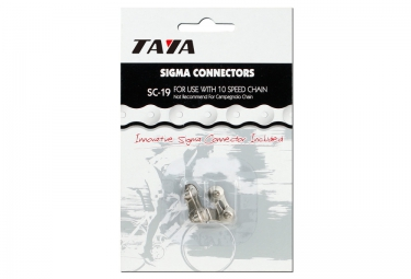 TAYA Chain Links 10 Speed SC-19 Silver x2