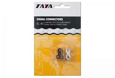 TAYA Chain Links 9 Speed SC-20 Silver x2