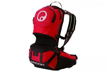 ergon sac a dos be2 enduro rouge noir l