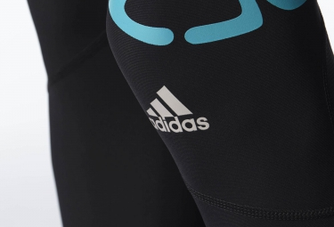 adidas Collant de Compression adizero SPRINTWEB Noir Bleu