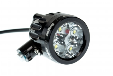 HOPE R4 + LED - Lighweight - 1 x 2 Cell Black