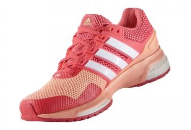 vestíbulo agudo Brote  adidas RESPONSE BOOST 2 Pair of Shoes Pink Women | Alltricks.com