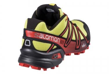 SALOMON SPEEDCROSS 3 Jaune Noir Rouge