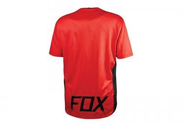 FOX Maillot Manches Courtes ALTITUDE SS Noir Rouge Bleu