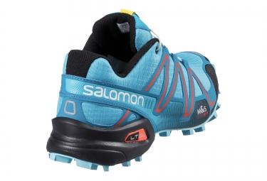 SALOMON SPEEDCROSS 3 Bleu Noir Rouge
