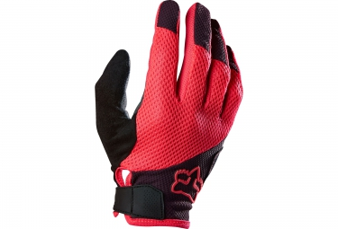fox paire de gants longs femme reflex gel rose l