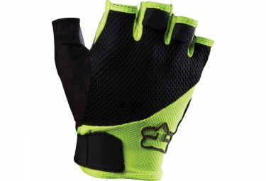 FOX Paire de gants courts REFLEX GEL Jaune
