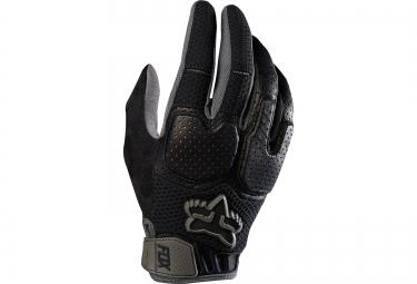 fox gants unabomber noir gris s
