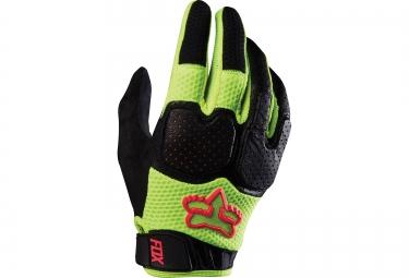 fox gants unabomber jaune noir s