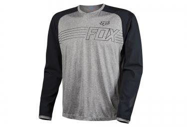 fox maillot manches longues explore heather gris xxl